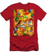 Abstraction 0368 Marucii Men's T-Shirt (Athletic Fit)