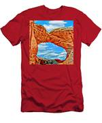 An Impression Of Arches National Park Men's T-Shirt (Athletic Fit)