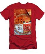 Ancient Drawings Men's T-Shirt (Athletic Fit)
