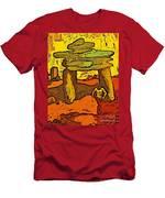 Ancient Sand Painting Men's T-Shirt (Athletic Fit)