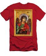 Archangel Michael Icon Men's T-Shirt (Athletic Fit)