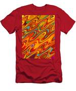 Art Abstract Geometric Pattern 26 Men's T-Shirt (Athletic Fit)