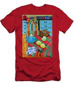 Art In The Kitchen Men's T-Shirt (Athletic Fit)