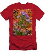 Autumn Asters Men's T-Shirt (Athletic Fit)