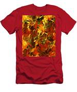 Autumn Burst Men's T-Shirt (Athletic Fit)