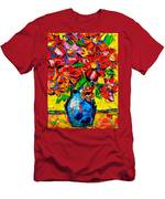 Autumn Flowers 7 Men's T-Shirt (Athletic Fit)
