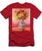 Autumn Flowers Men's T-Shirt (Athletic Fit)