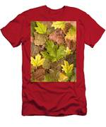 autumn is coming 5 - A carpet of autumn color leaves  Men's T-Shirt (Athletic Fit)