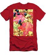 Berries And Leaves Men's T-Shirt (Athletic Fit)