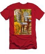 Bistro Table-color Men's T-Shirt (Athletic Fit)