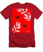 Black Fish Right Men's T-Shirt (Athletic Fit)