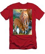 Bongo Mother And Calf Men's T-Shirt (Athletic Fit)