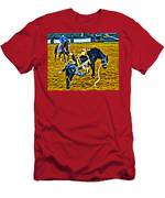 Bucked Off Proper Men's T-Shirt (Athletic Fit)