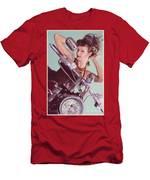 Burlesque Biker -portrait Men's T-Shirt (Athletic Fit)