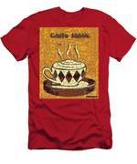 Caffe Latte Men's T-Shirt (Athletic Fit)