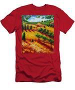 California Chardonnay Men's T-Shirt (Athletic Fit)