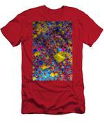 Candy Colored Blast Men's T-Shirt (Athletic Fit)