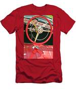 Car Interior Red Seats And Steering Wheel Men's T-Shirt (Athletic Fit)
