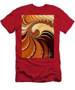 Caramel  Men's T-Shirt (Athletic Fit)