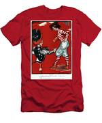 Cartoon Football, 1901 Men's T-Shirt (Athletic Fit)