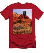 Chapel Of The Holy Cross 3 Men's T-Shirt (Athletic Fit)
