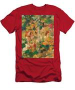 Children Dancing Around A Tree Men's T-Shirt (Athletic Fit)
