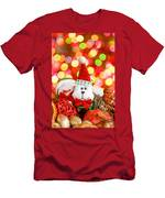 Christmas Dog Men's T-Shirt (Athletic Fit)