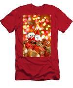 Christmas Penguin Men's T-Shirt (Athletic Fit)