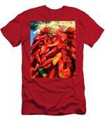 Close-up Of Red Chilies, Taos, New Men's T-Shirt (Athletic Fit)