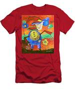 Clown 530-11-13 Marucii Men's T-Shirt (Athletic Fit)