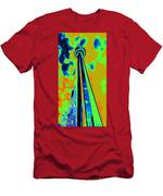 Cn Tower Abstract Men's T-Shirt (Athletic Fit)