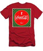 Coca Cola Pop Art  Men's T-Shirt (Athletic Fit)