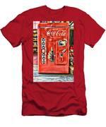 Coca-cola Retro Style Men's T-Shirt (Athletic Fit)