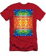 Color Revival - Abstract Art By Sharon Cummings Men's T-Shirt (Athletic Fit)