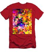 Colorful Abstract Background Men's T-Shirt (Athletic Fit)