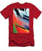 Colors On The Wall Men's T-Shirt (Athletic Fit)