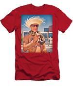 Coney Island Snake Man Men's T-Shirt (Athletic Fit)