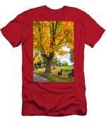 Contemplation Bench Men's T-Shirt (Athletic Fit)