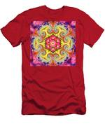 Coral Ecstacy Men's T-Shirt (Athletic Fit)