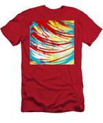 Eclectic Rays  Men's T-Shirt (Athletic Fit)