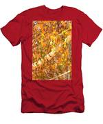 Elegant Autumn Branches Men's T-Shirt (Athletic Fit)