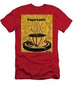 Espresso Men's T-Shirt (Athletic Fit)