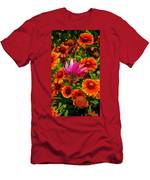 Fallen Coneflower Men's T-Shirt (Athletic Fit)
