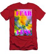 Fear Less Men's T-Shirt (Athletic Fit)