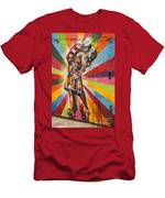 First Kiss Men's T-Shirt (Athletic Fit)