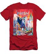 Fishman In Vegas Men's T-Shirt (Athletic Fit)
