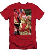Flower Hmong Baby 01 Men's T-Shirt (Athletic Fit)