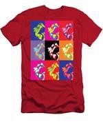 Freddie Mercury Pop Art Men's T-Shirt (Athletic Fit)