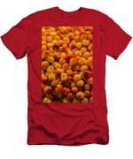 Fresh Yellow Cherries Men's T-Shirt (Athletic Fit)