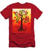 Fun Tree Of Life Impression IIi Men's T-Shirt (Athletic Fit)